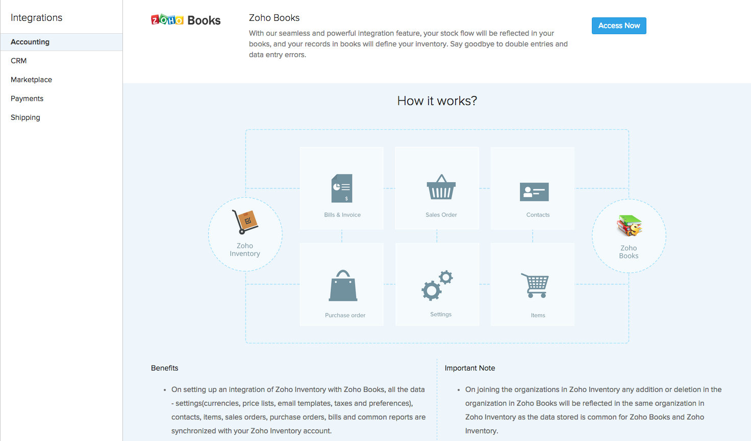 Connect Multiple Shopify Stores to Zoho Books