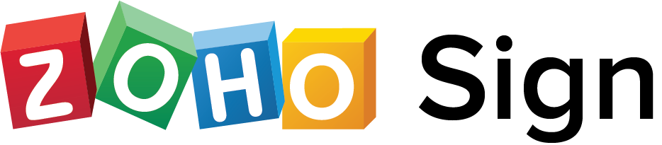 Zoho Sign Wordmark Logo